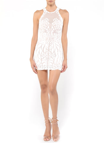 Mini Length Strapless Corset Lace Back Dress
