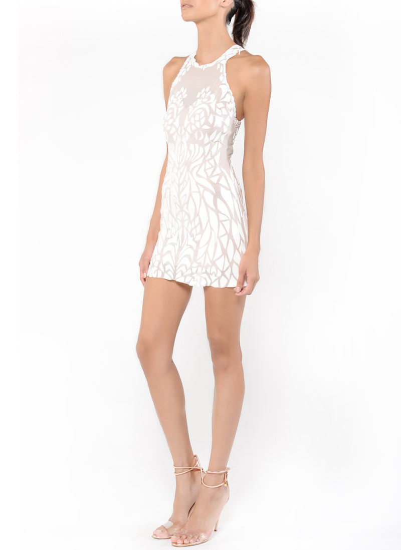 Mini Length Racerback Dress - D1611C - Zaha