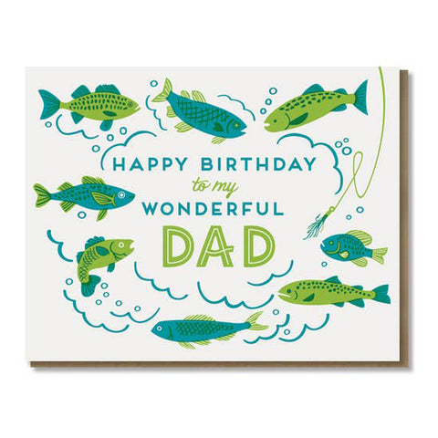 Wonderful Birthday Dad Card