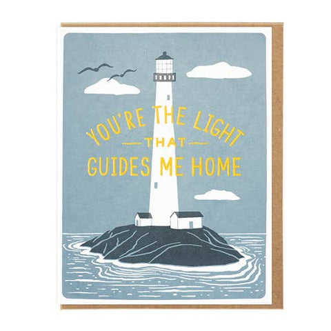 The Light That Guides Me Home Card