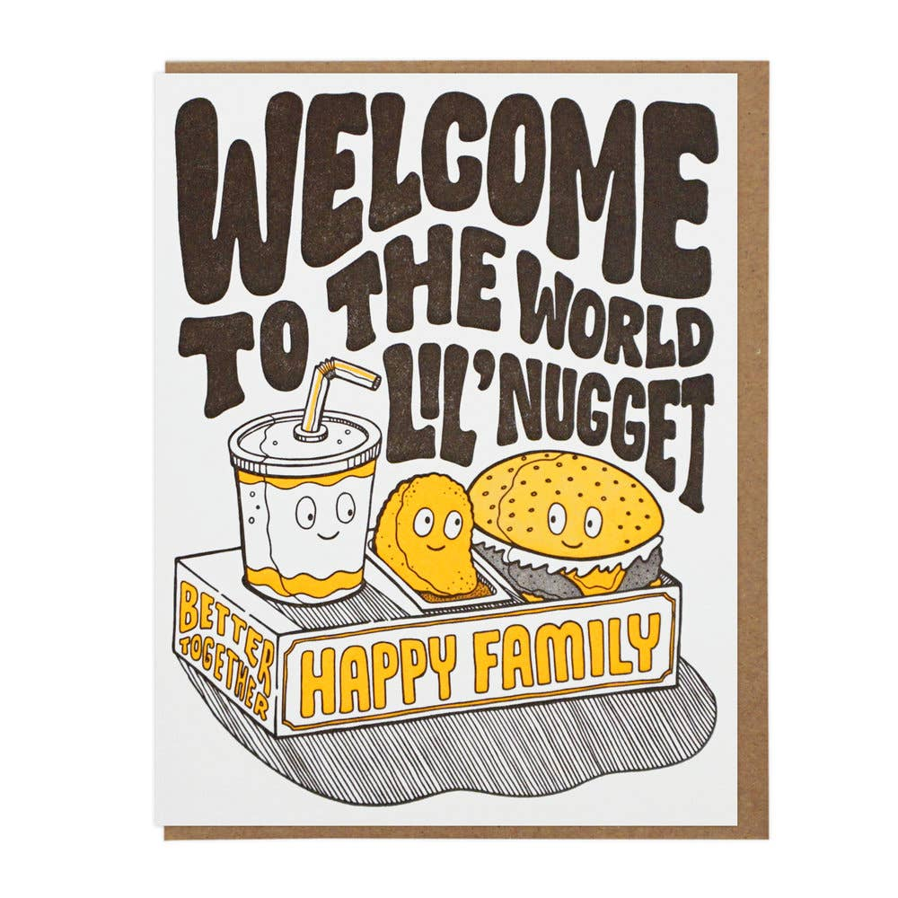 Welcome Lil' Nugget Card