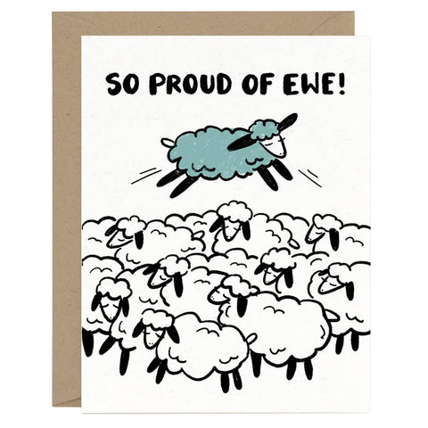 So Proud of Ewe Card
