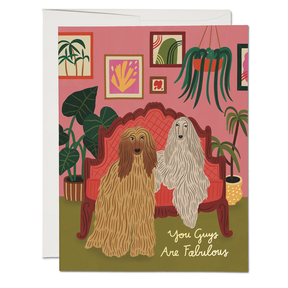 You Guys Are Fabulous Card
