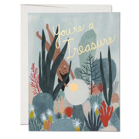 You're A Treasure Card