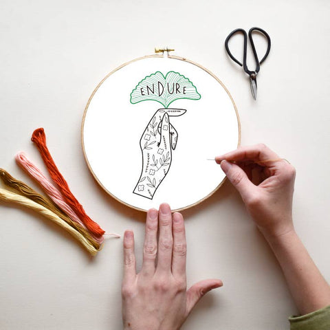Endure DIY Embroidery Kit