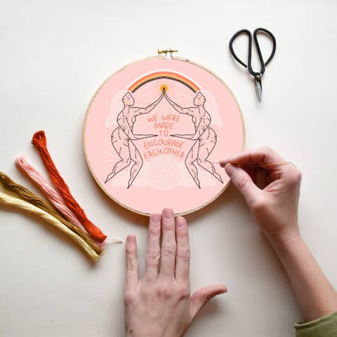 Encourage DIY Embroidery Kit