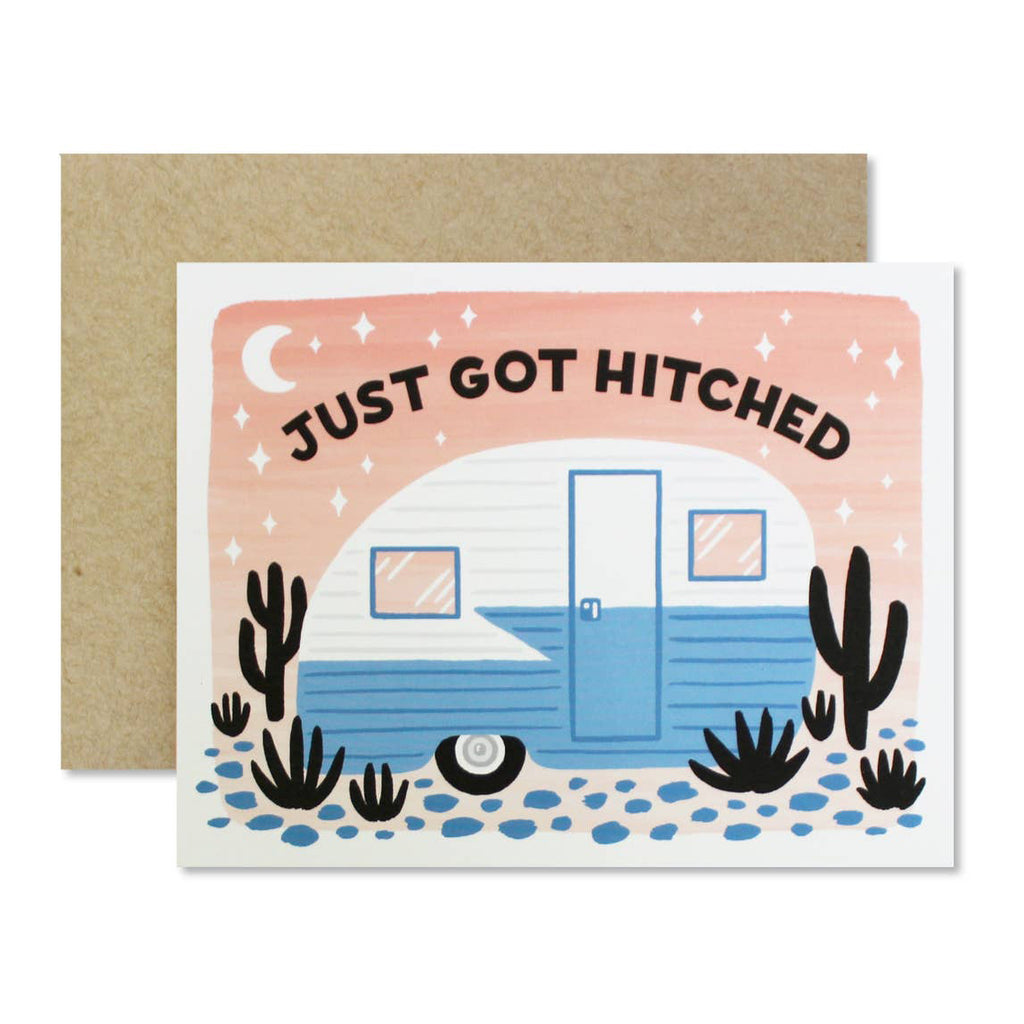 Just Got Hitched Card
