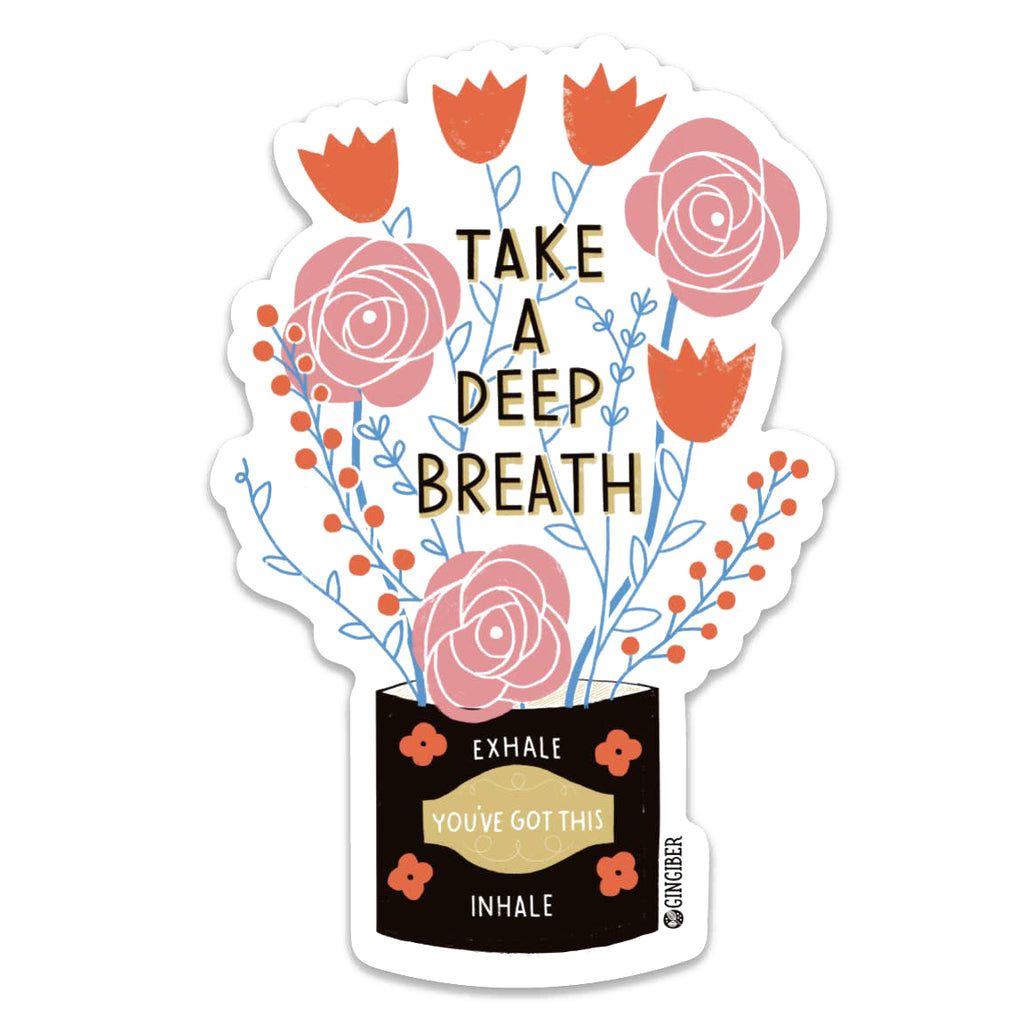 Deep Breath Sticker