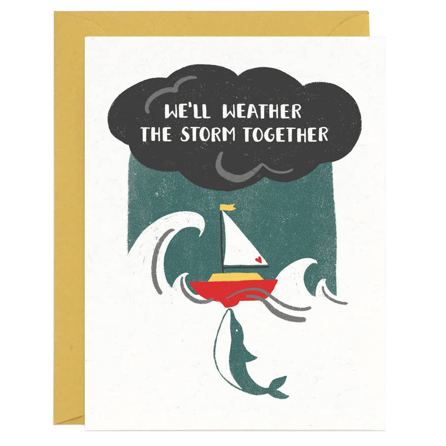 Weather the Storm Card