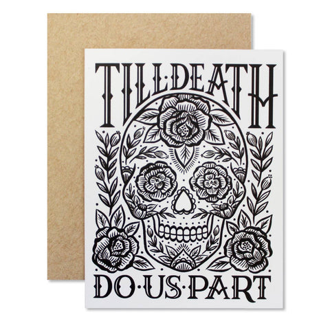 Till Death Do Us Part Card