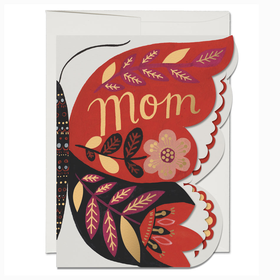Butterfly Mom Card