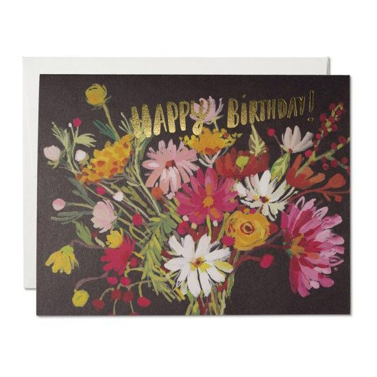 Greeting Cards - Birthday Bouquet Card