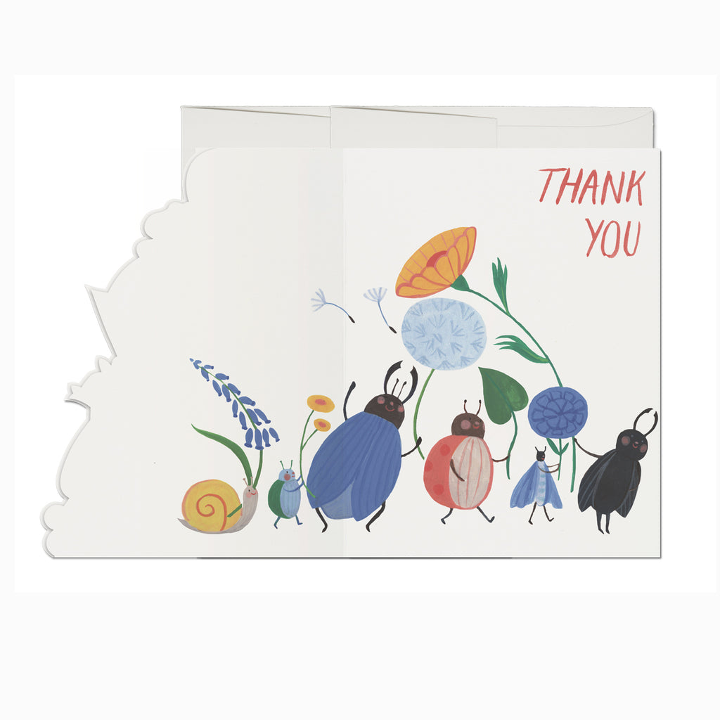 Thank You Bugs Card