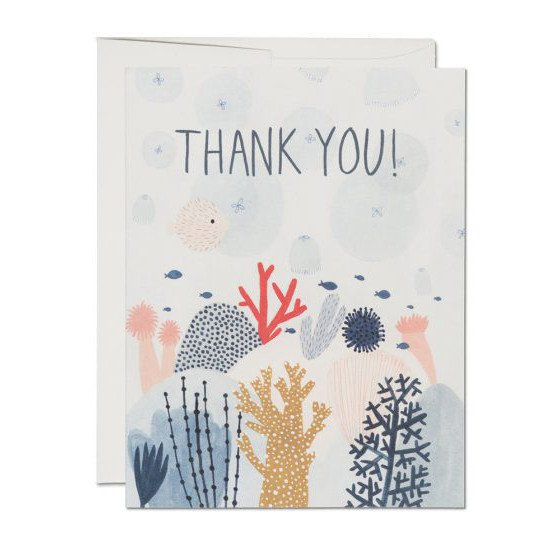 Greeting Cards - Coral Reef Card