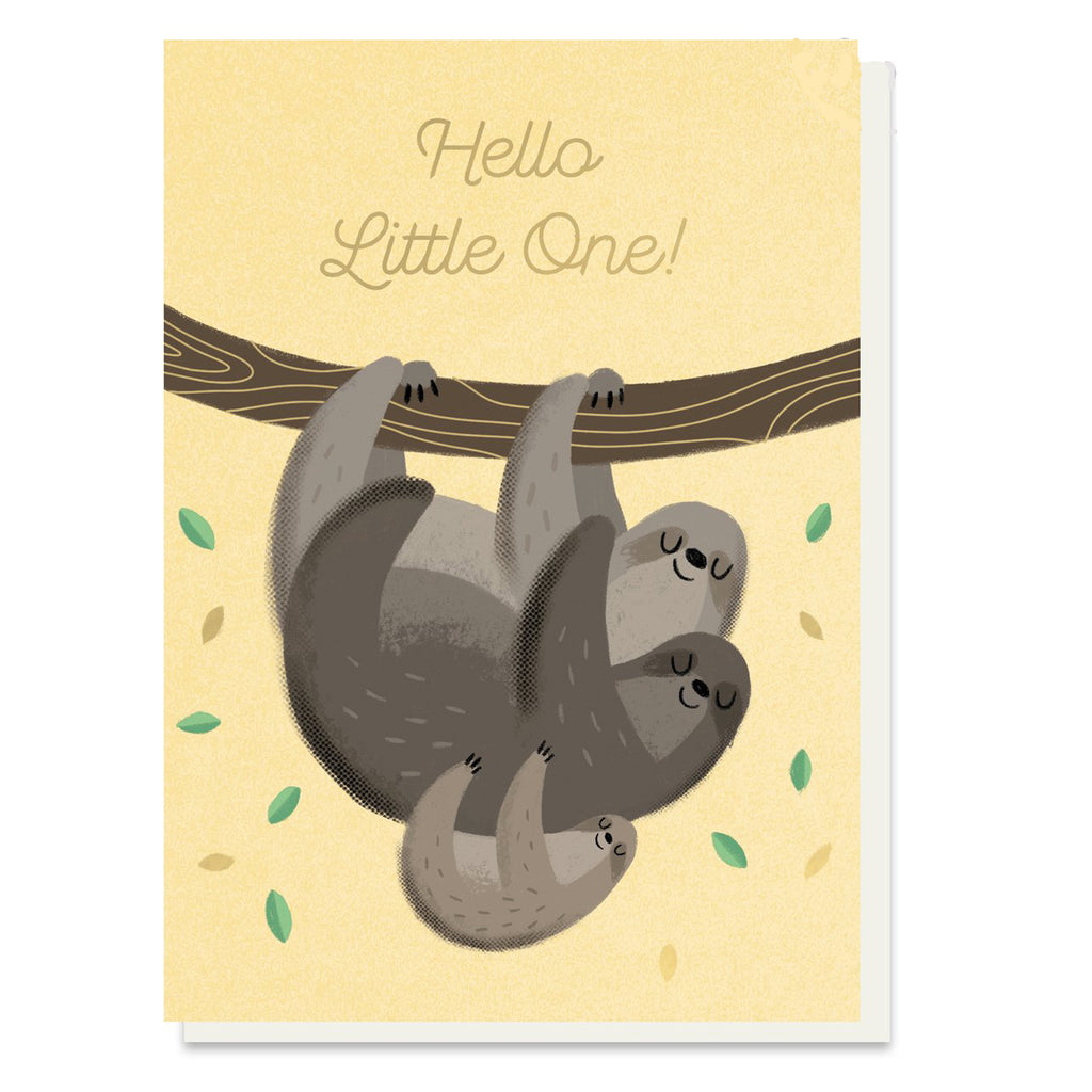 Hello Little Card