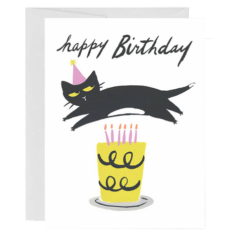 Cat Candles Card