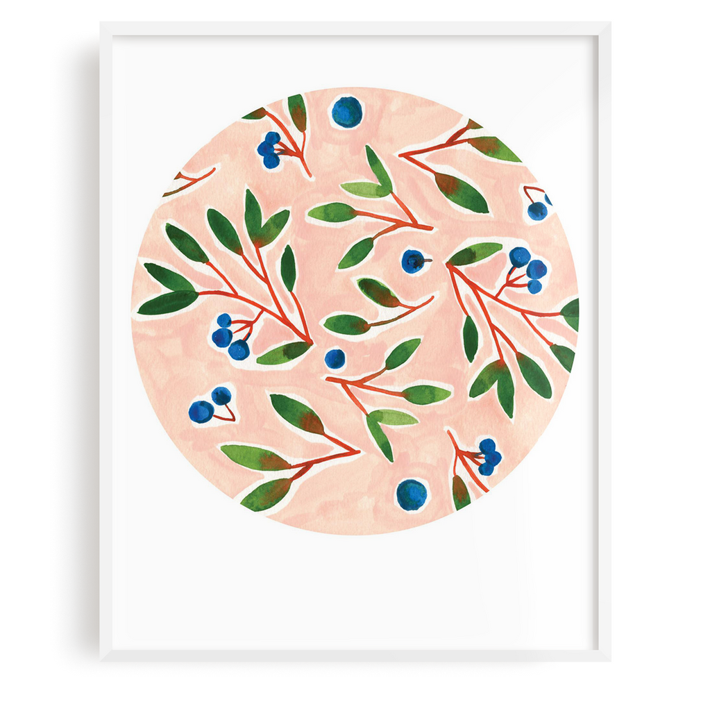 Blueberries Print