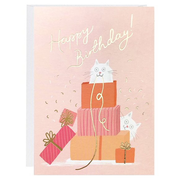 Kitty Gifts Card