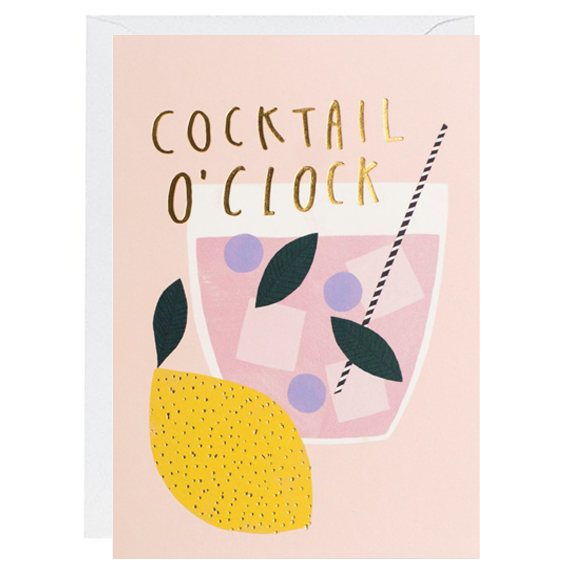 Cocktail O'Clock Card