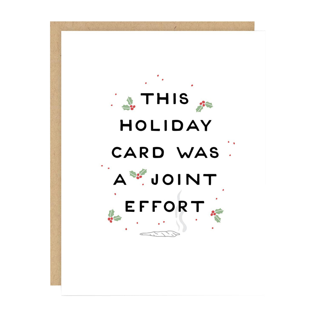 Joint Effort Holiday Card