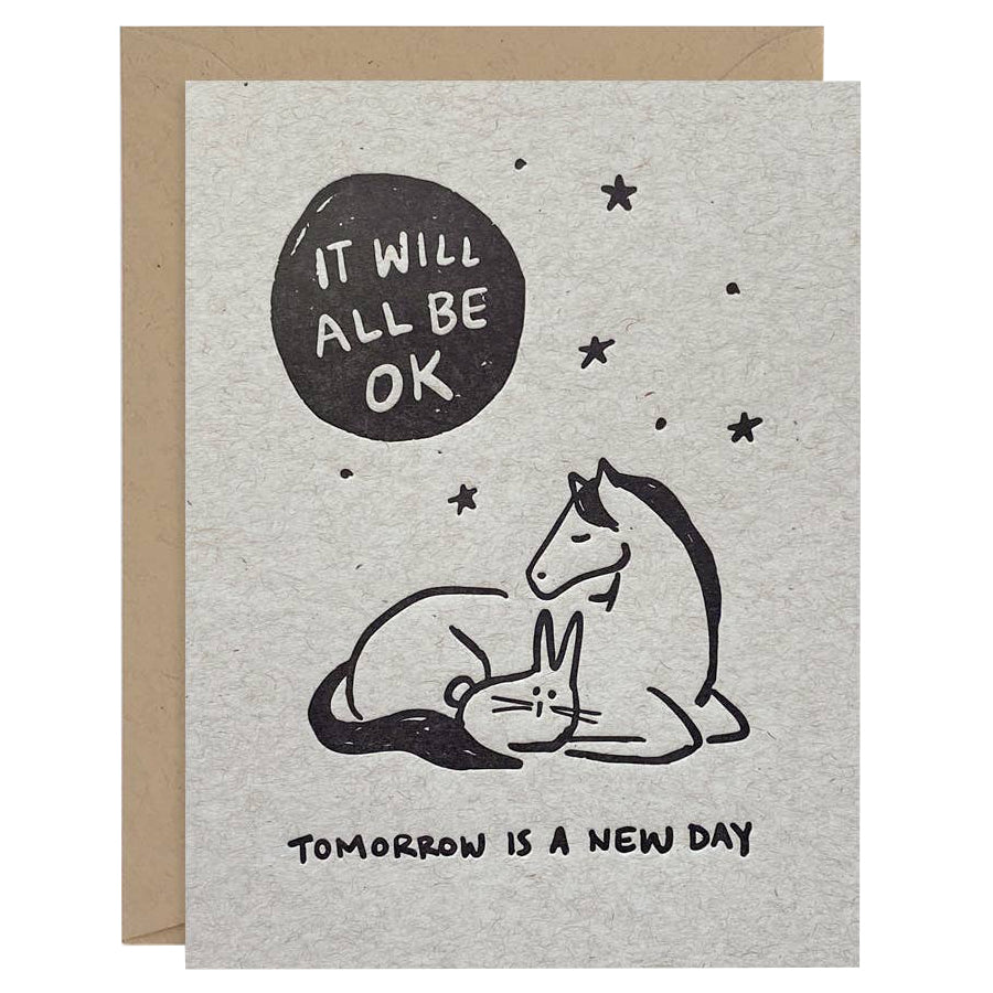 All Be Ok Card