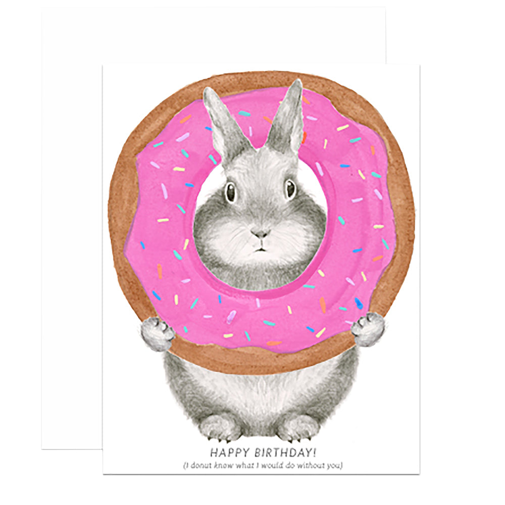 Donut Birthday Card