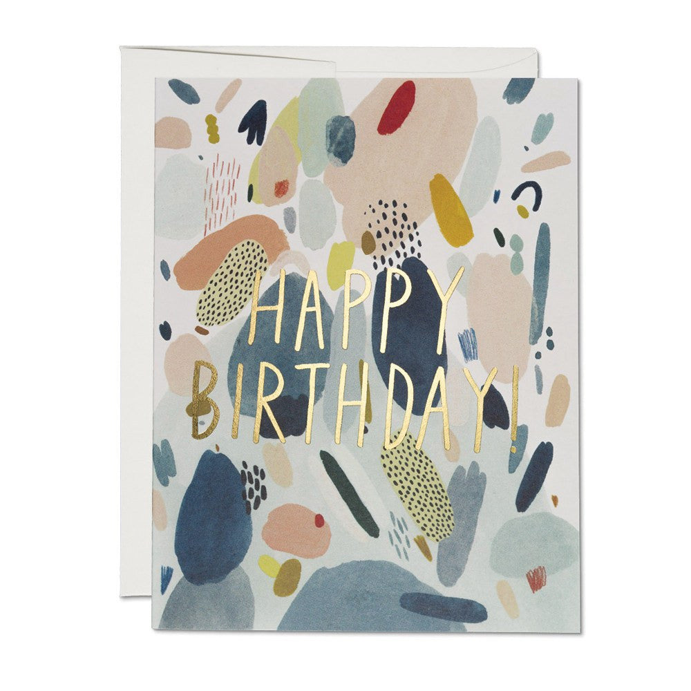 Greeting Cards - Abstract Birthday Card