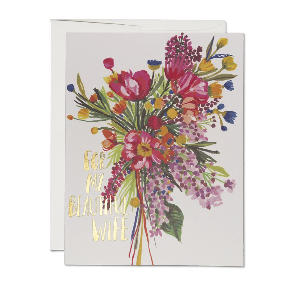 Greeting Cards - Beautiful Wife Card