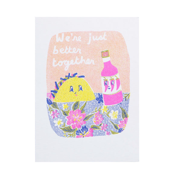 Greeting Cards - Better Together Taco Card