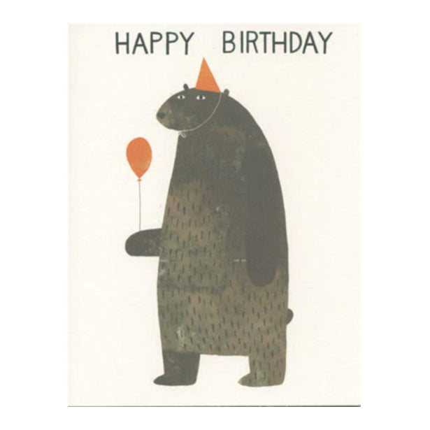 Greeting Cards - Birthday Bear Card