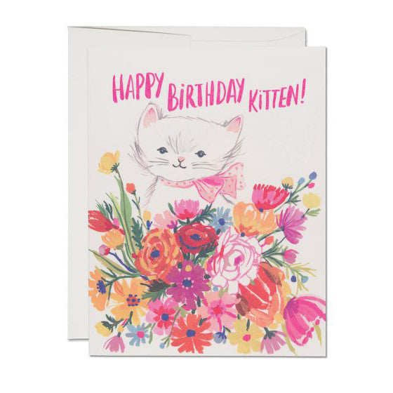 Greeting Cards - Birthday Kitten Card