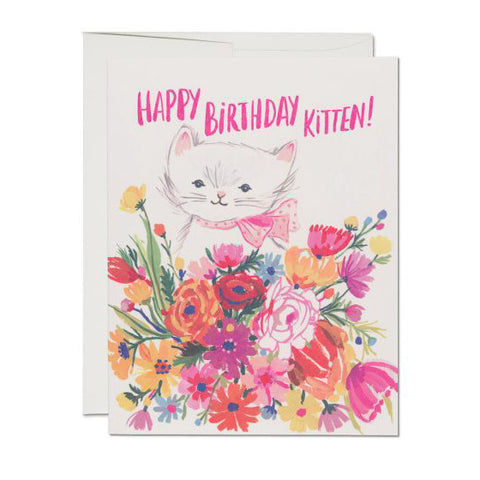 Birthday Kitten Card