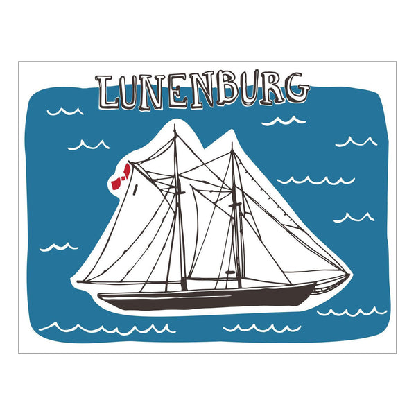 Greeting Cards - Bluenose Postcard