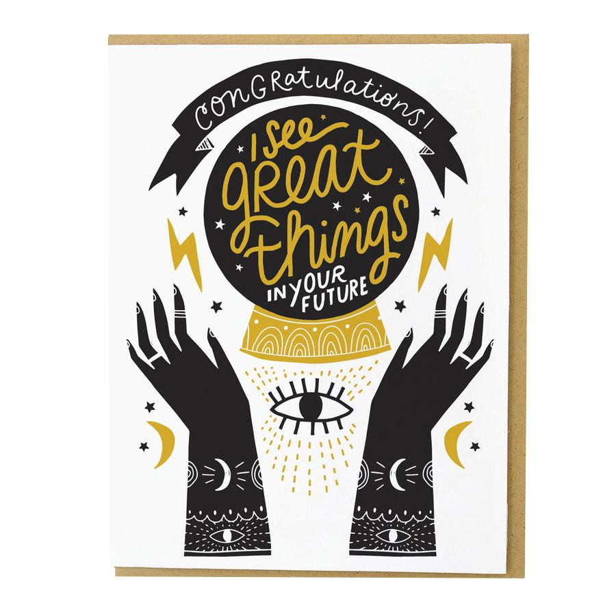 Greeting Cards - Crystal Ball Card