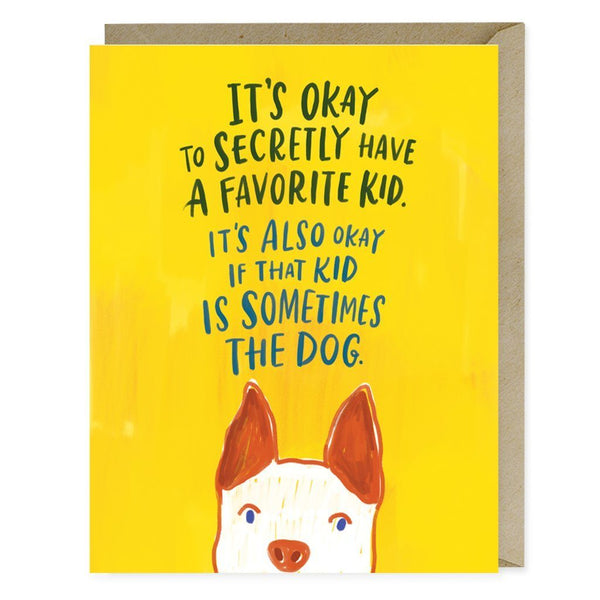 Greeting Cards - Favourite Kid Card