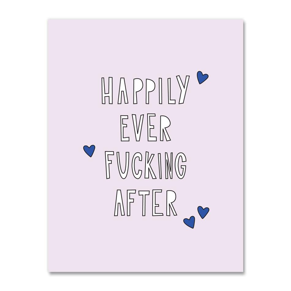 Greeting Cards - Happily Ever After Card