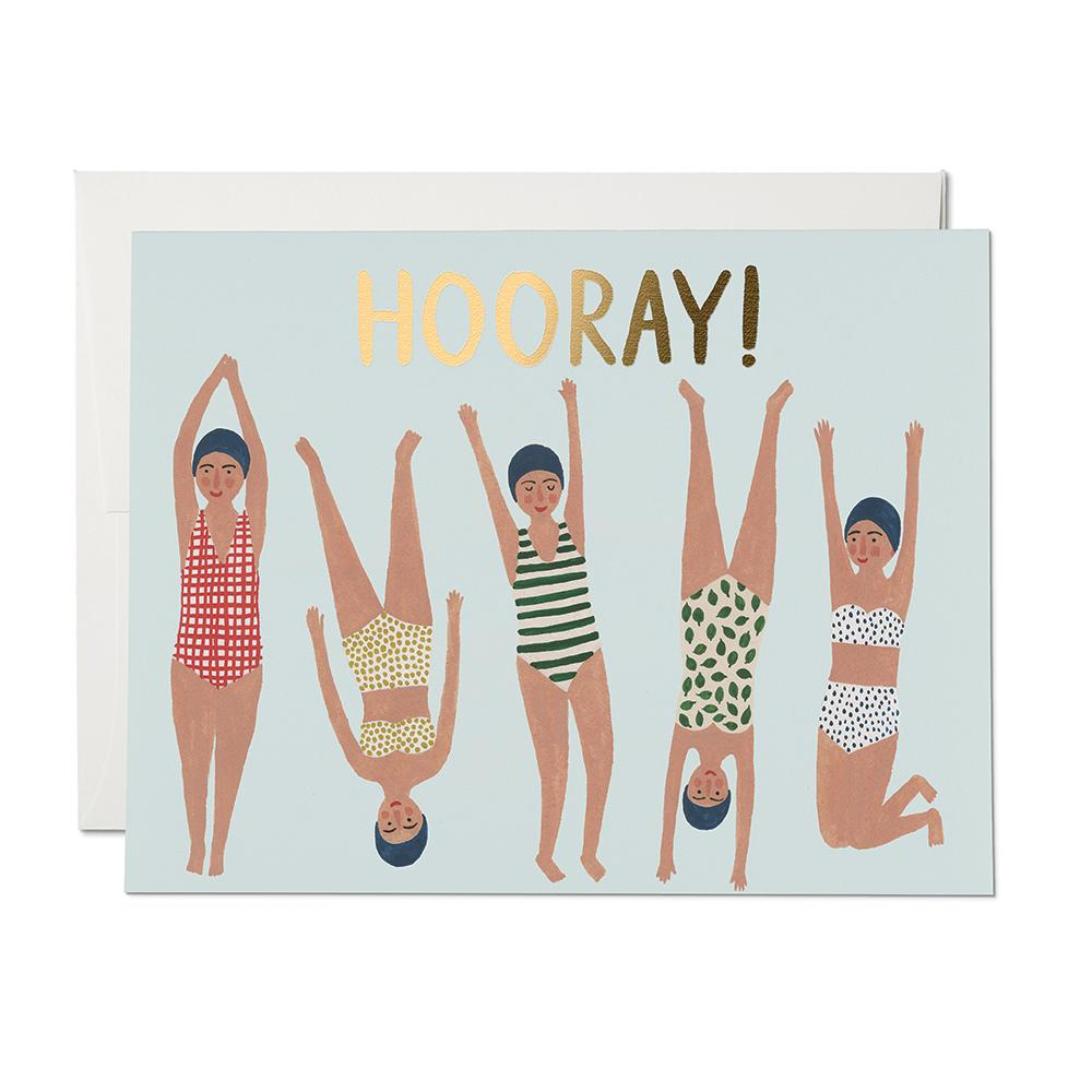 Greeting Cards - Hooray Card
