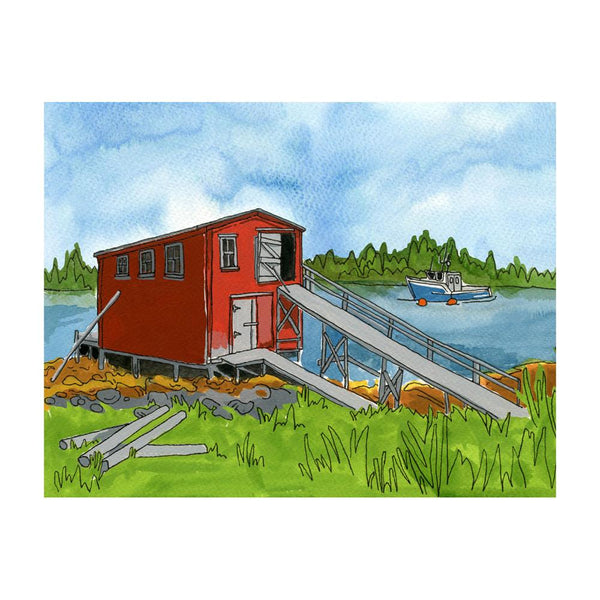 Greeting Cards - Lahave Islands, Nova Scotia Postcard