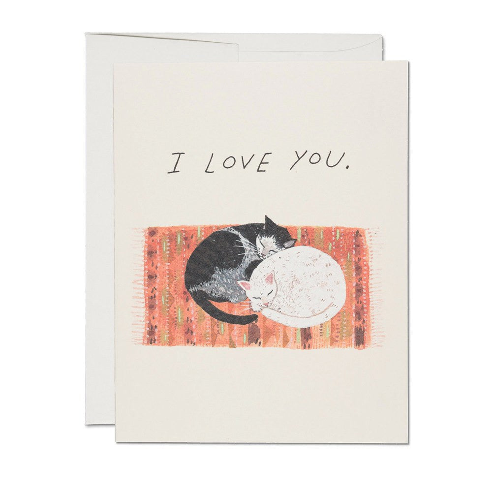 Greeting Cards - Love Cats Card