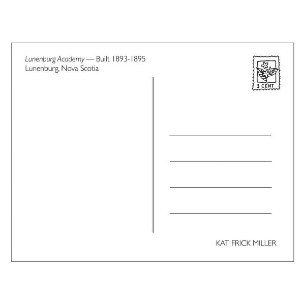 Greeting Cards - Lunenburg Academy Postcard