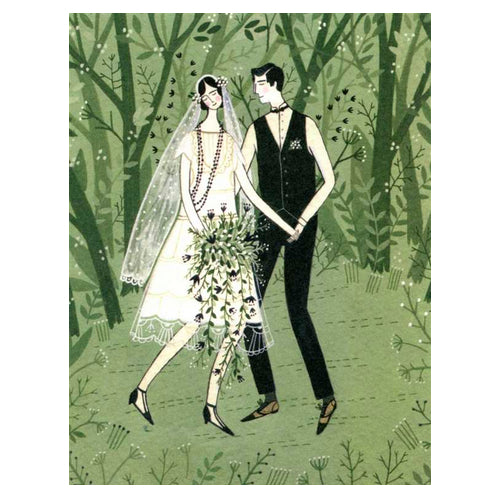Greeting Cards - Man & Wife Card