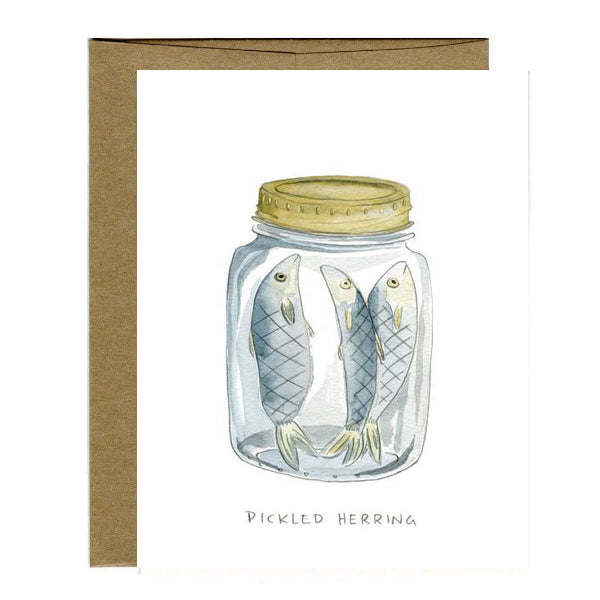 Greeting Cards - Pickled Herring Card