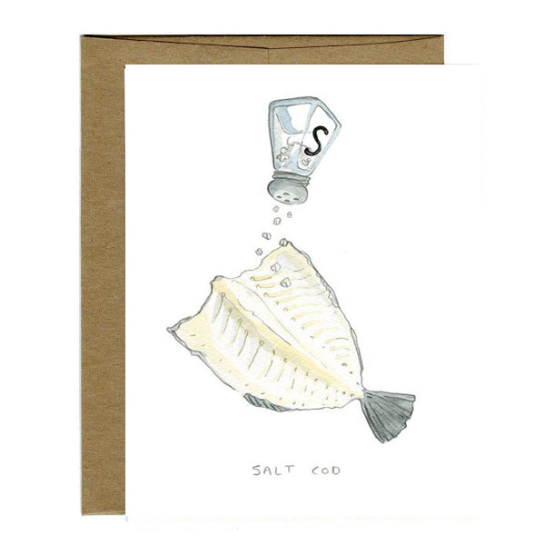 Greeting Cards - Salt Cod Card