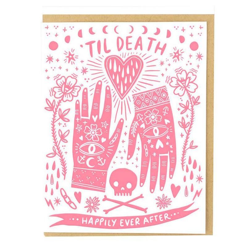 Greeting Cards - Til Death Card