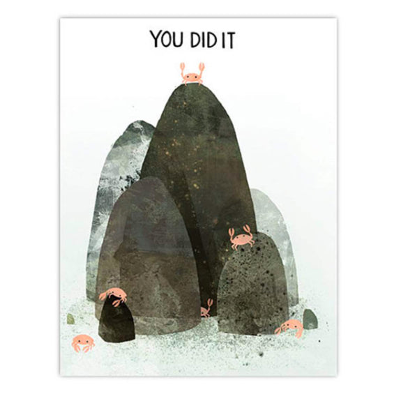 Greeting Cards - You Did It Card