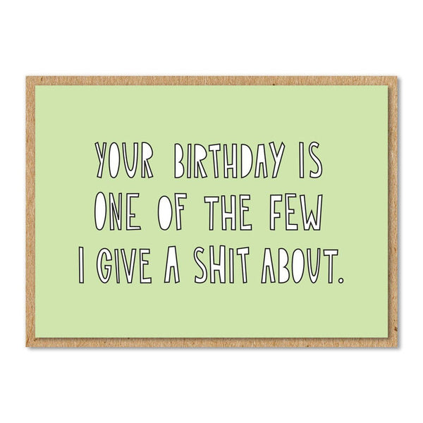 Greeting Cards - Your Birthday Card