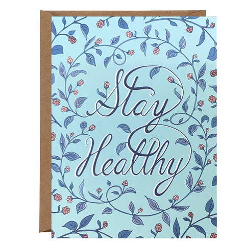 Stay Healthy Card