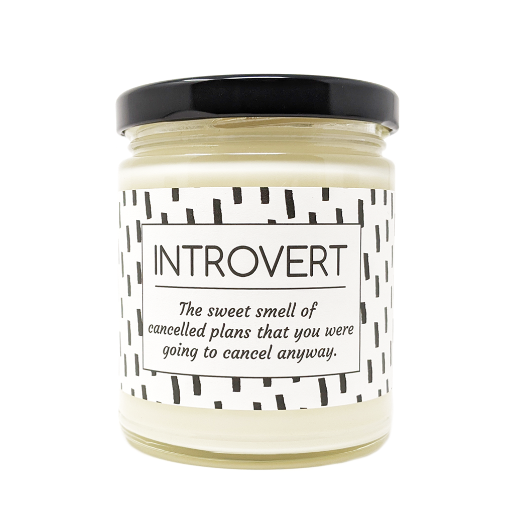 Introvert Candle
