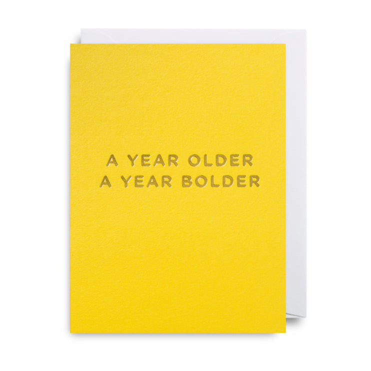 A Year Bolder Card