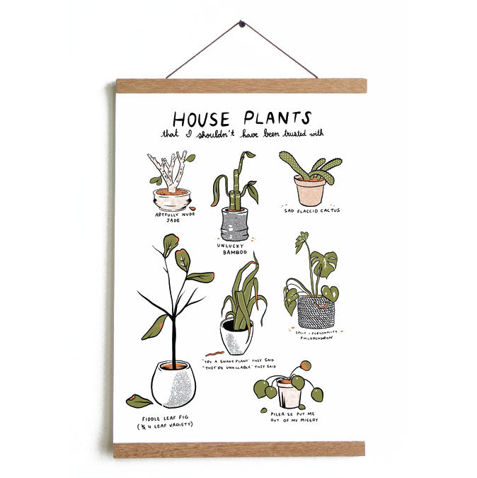 Unfortunate Plants Print Set